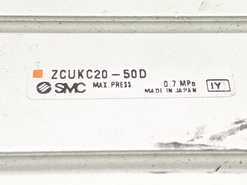 SMC ZCUKC20-50D Free Mount Cylinder w/ Vacuum Passage - Maverick Industrial Sales