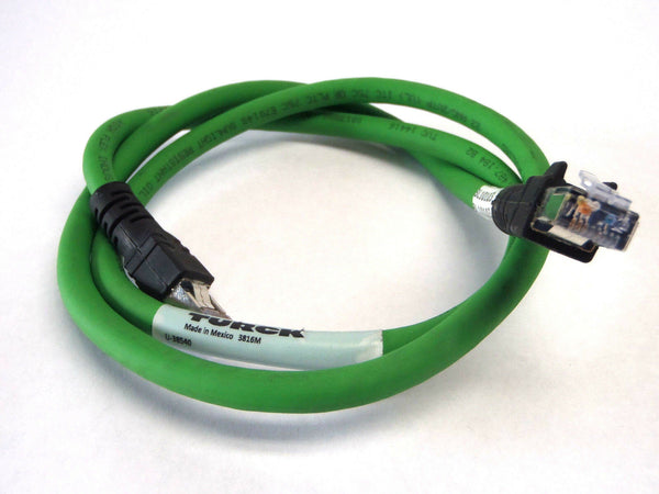 Turck RJ45S RJ45S 423-1M Hybrid Ethernet Cable U-38540 - Maverick Industrial Sales