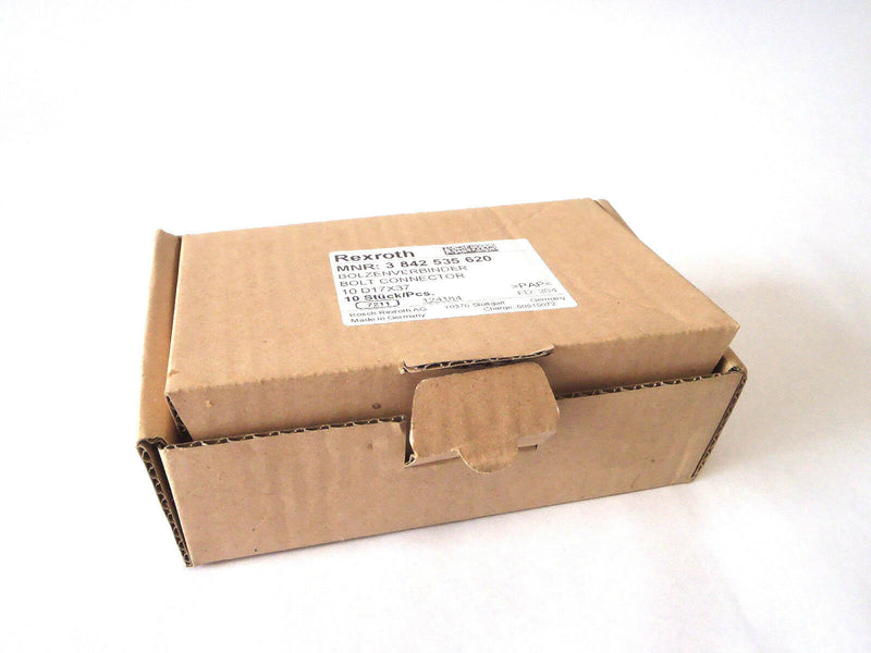 Box of 10 Rexroth 3 842 535 620 D17 X 37 Bolt Connector - Maverick Industrial Sales