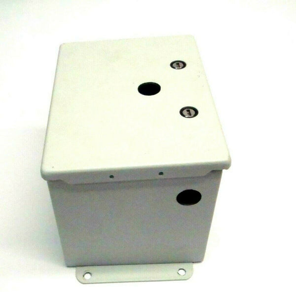 "Hoffman A8066CHFL Continuous Hinge Electrical Enclosure 8"" x 6"" x 6"" Type 4 - Maverick Industrial Sales"