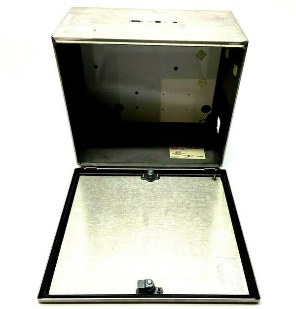 "Hoffman LHCS353020SS Stainless Steel Enclosure 12-3/4 x 11-7/8 x 7-7/8"" - Maverick Industrial Sales"