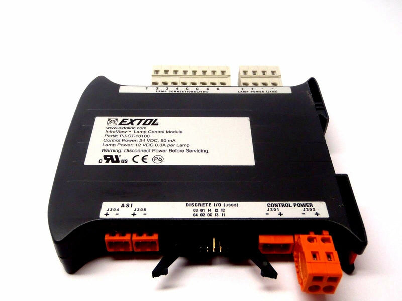 Extol PJ-CT-10100 Lamp Control Module 24VDC 50mA Lamp Power 12VDC 8.3A - Maverick Industrial Sales