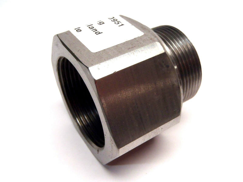 Unbranded Gland Steam Fitting Approx. 1-3/4 Large Inner Diam 1 5/8 Inch OD - Maverick Industrial Sales