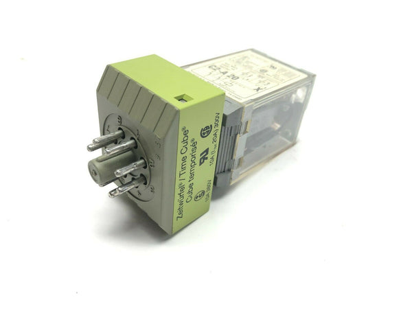Multicomat CT2-K20/M Time Delay Relay w/ Turck C2-A20X Relay 120VAC 60Hz - Maverick Industrial Sales