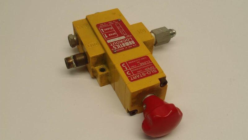 Numatics VT30N03Y Slo-Start Manual Lockout Valve - Maverick Industrial Sales