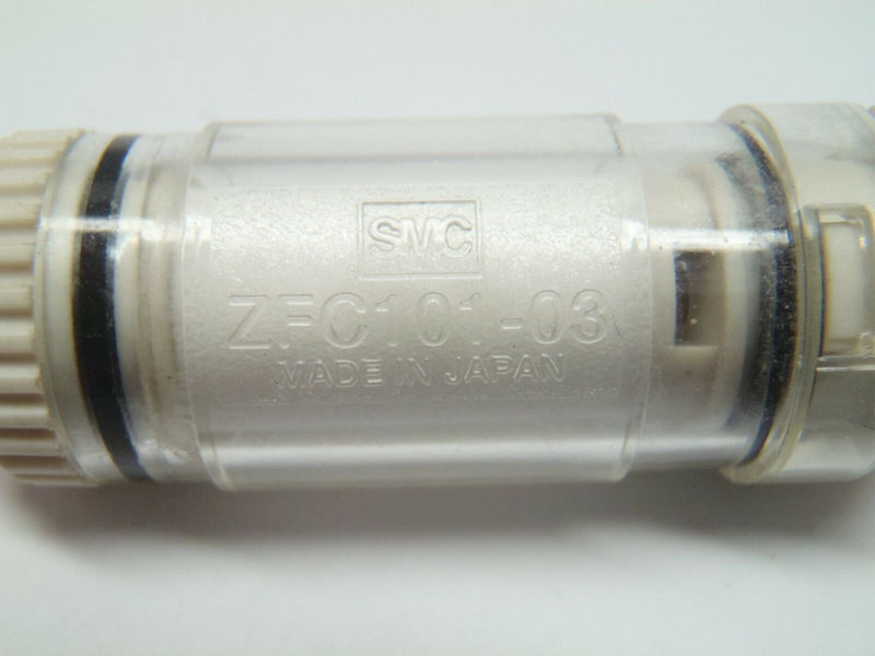 SMC ZFC101-03 In-line Air Filter with One-touch Fitting No Bracket - Maverick Industrial Sales
