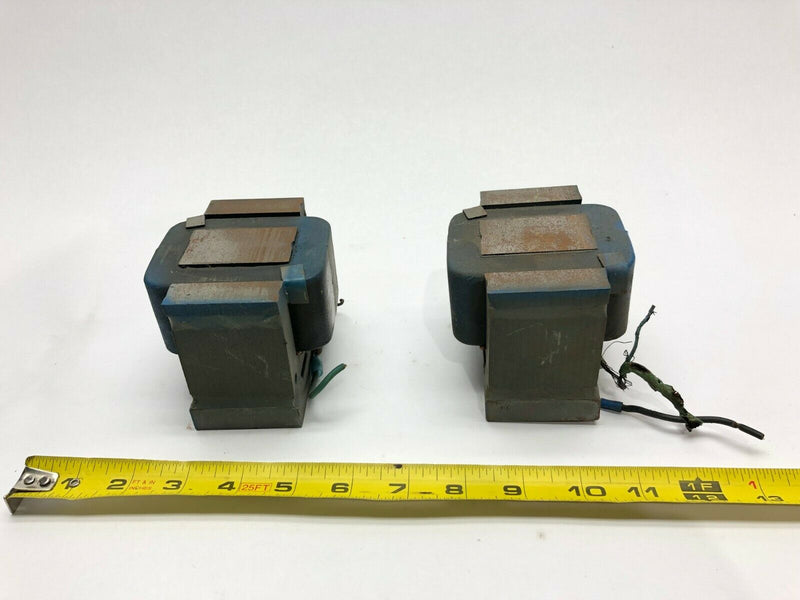Lot of 2 Vibratory Bowl Feeder Block Coils, 83004 - Maverick Industrial Sales