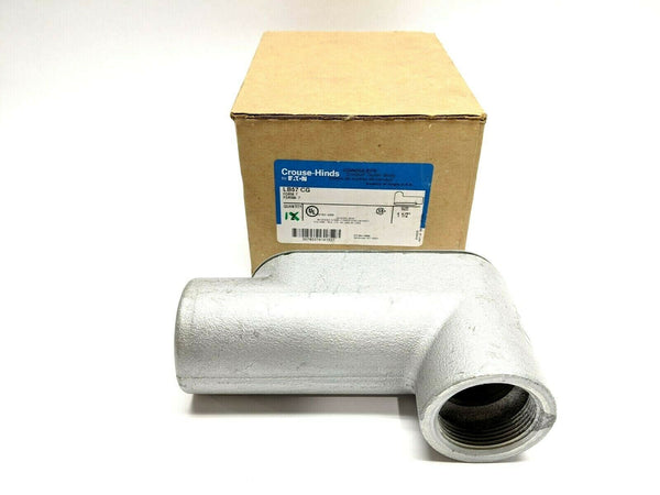 "Crouse-Hinds LB57 CG Form 7 Conduit Outlet Body, 1-1/2"" - Maverick Industrial Sales"