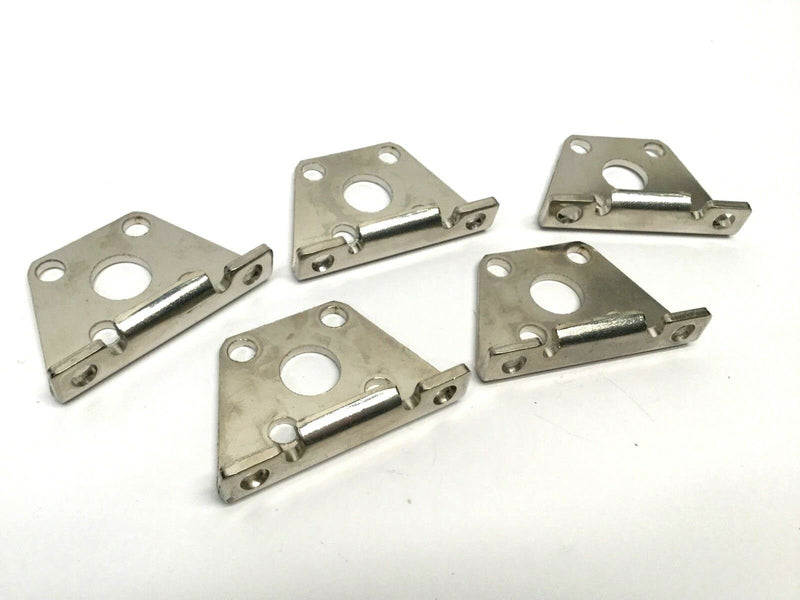 Lot of 5 SMC CQS-L020 Foot Mount Bracket Hardware - Maverick Industrial Sales