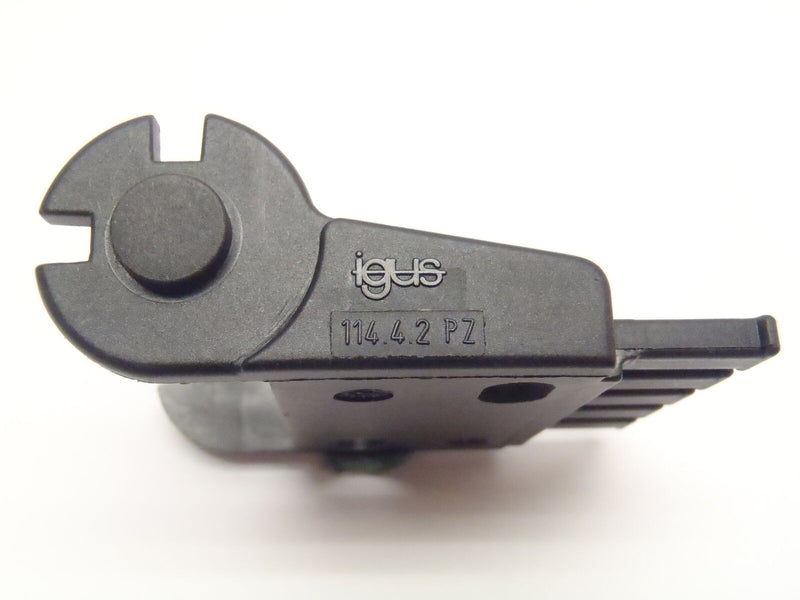 Igus 114.4.2 PZ End Mount for Energy Chain Cable Channel - Maverick Industrial Sales