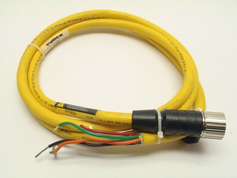 Turck CKM 64-078-2 Cable Assembly Cordset U2-04628 - Maverick Industrial Sales