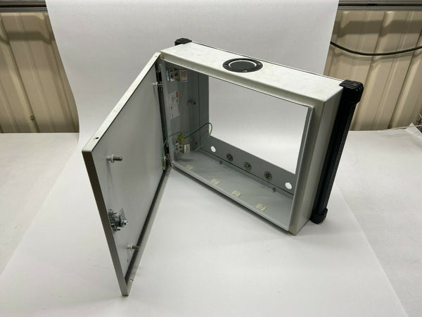 "Hoffman CP405012 Enclosure 16""x20""x5"" w/ 13-1/4"" x 10-1/8"" Display Cutout - Maverick Industrial Sales"
