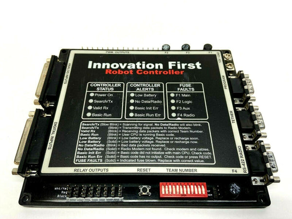 Innovation First 10210667 Robot Controller FRRC Status Alerts Fuse Faults - Maverick Industrial Sales