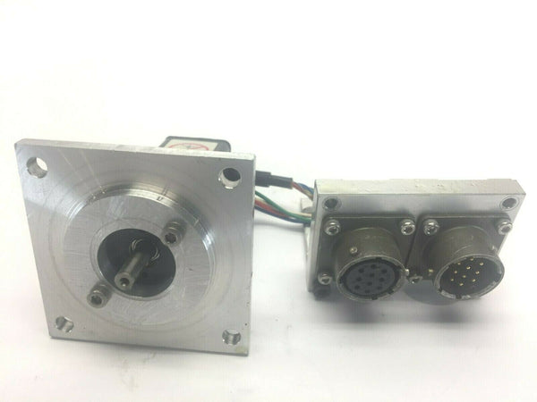 Yaskawa SGMM-A2C313 Servo Motor 4mm Shaft - Maverick Industrial Sales