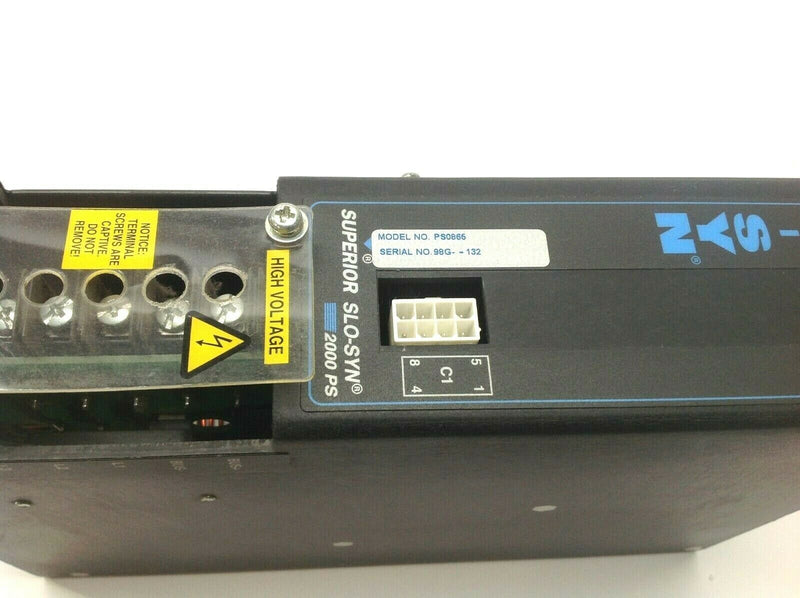 Superior SLO-SYN 2000 PS PS0865 Power Supply Module - Maverick Industrial Sales