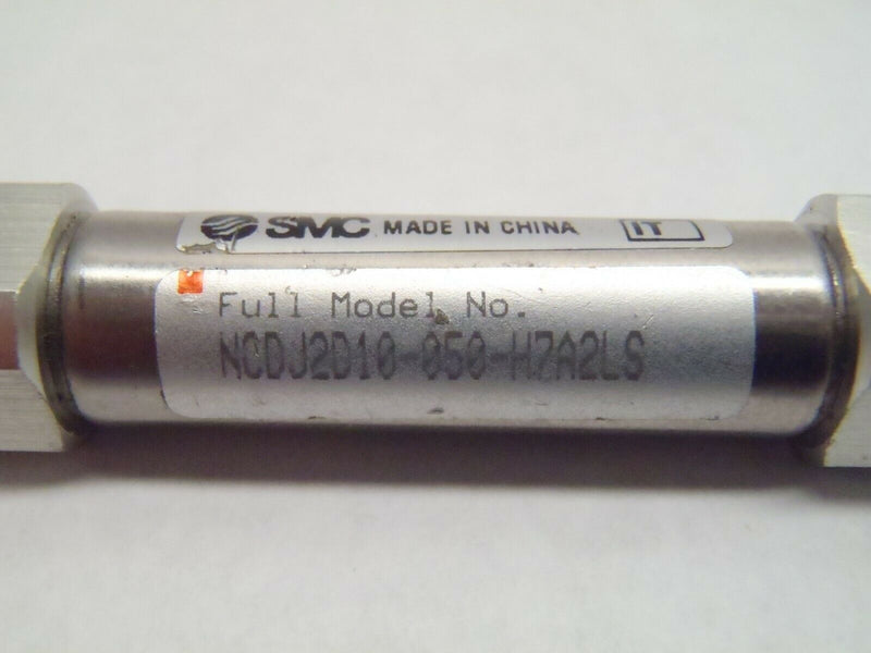 SMC NCDJ2D10-050-H7A2LS Pneumatic Cylinder Double Action w/ Clevis - Maverick Industrial Sales