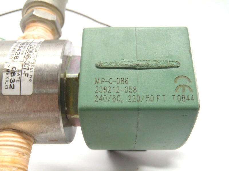 Asco Red Hat II SC8262G7V MP-C-086 Solenoid Valve 240V - Maverick Industrial Sales