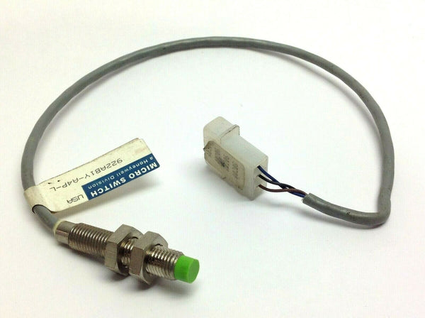 Honeywell Micro Switch 922AB1Y-A4P-L Proximity Switch - Maverick Industrial Sales