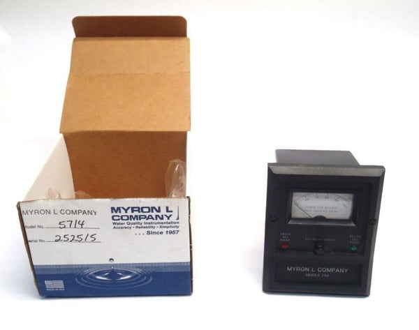 Myron L Company 757-14 Series 750 Conductivity Analog Monitor/Controller - Maverick Industrial Sales