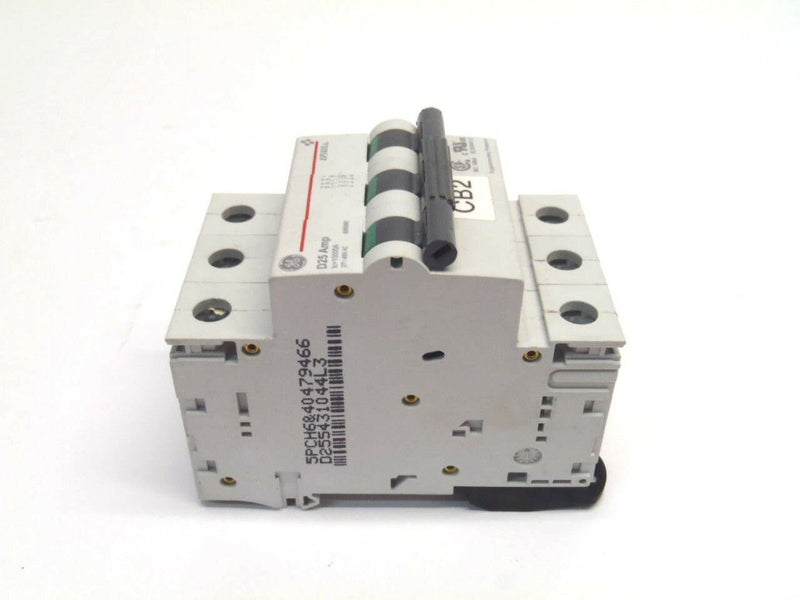 GE EP103UL D25 Amp 3 Pole 277/480V Din Rail Mount Breaker - Maverick Industrial Sales