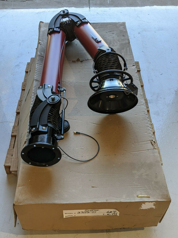 "Micro Air 37115-05 Source Capture Articulated Arm 6"" x 7' for TaskMaster TM-1000"