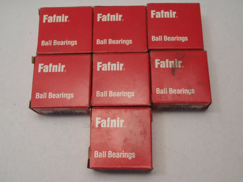 Lot of 7 FAFNIR 303KDD Single Row Ball Bearing - Maverick Industrial Sales