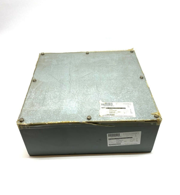"Hoffman A16166GSC 16"" x 16"" x 6"" Enclosure w/ Galvanized Screw Cover - Maverick Industrial Sales"