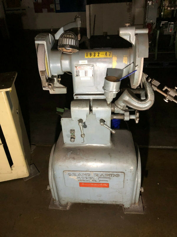 "Hammond Machinery Builders Model ADP 12"" Grinder Grinding Machine 1-1/2"" HP 440V - Maverick Industrial Sales"