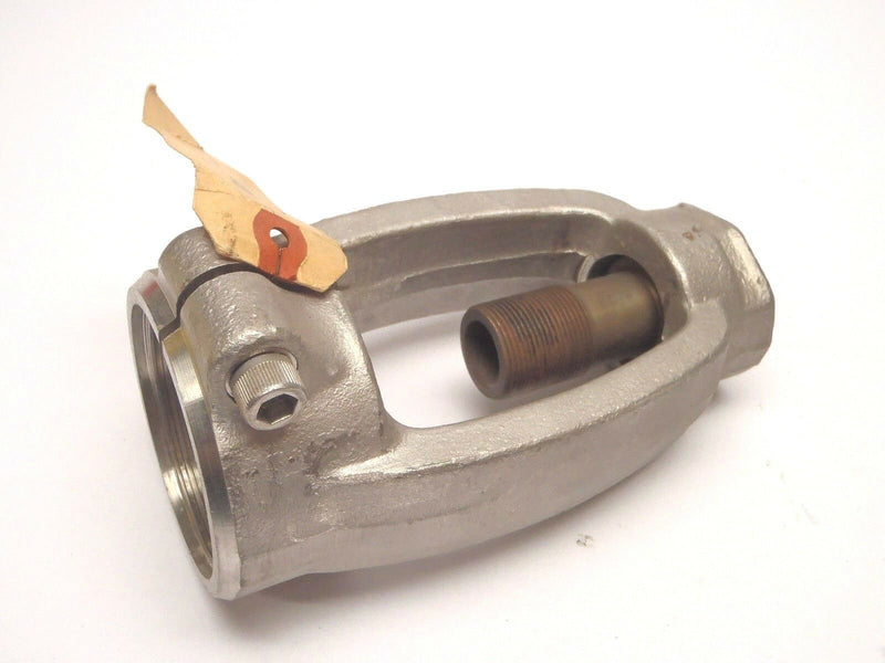 Conval Clamp Seal 1637 B 316 Yoke Assembly for Globe Valve