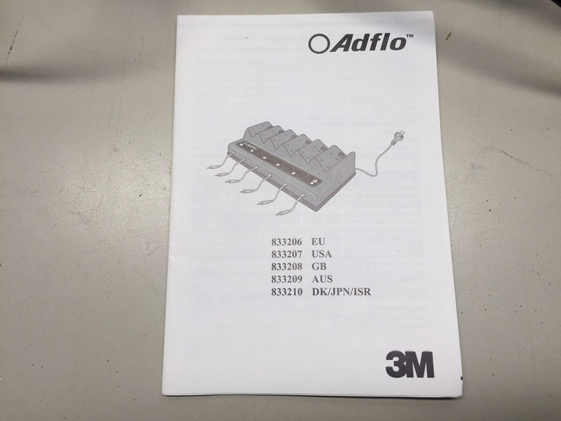 3M Adflo 15-0099-08N6 Multiple Battery Smart Charger 70071268430, 833206 - Maverick Industrial Sales