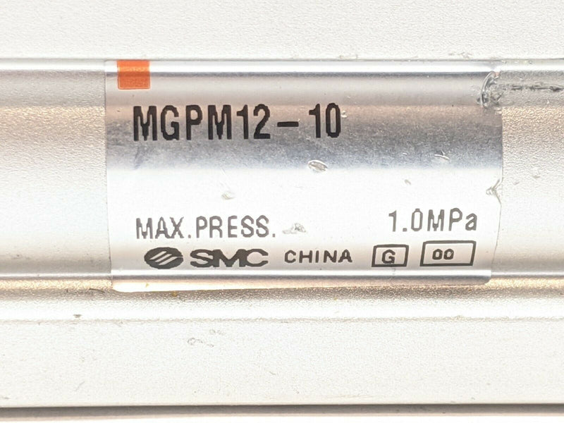 SMC MGPM12-10 Compact Guide Cylinder w/ Fittings - Maverick Industrial Sales