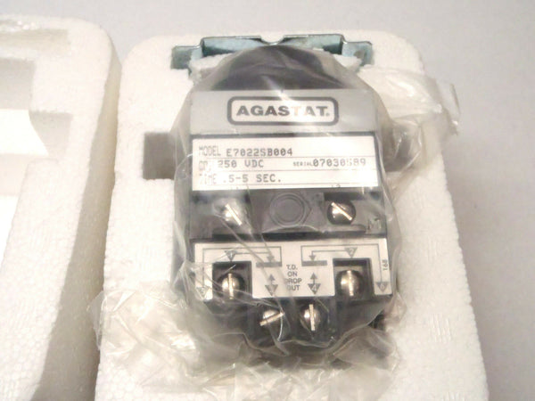 Tyco Agastat E7022SB004 1-1423171-3 Timing Relay 250V DC Coil .5-5 Sec. - Maverick Industrial Sales
