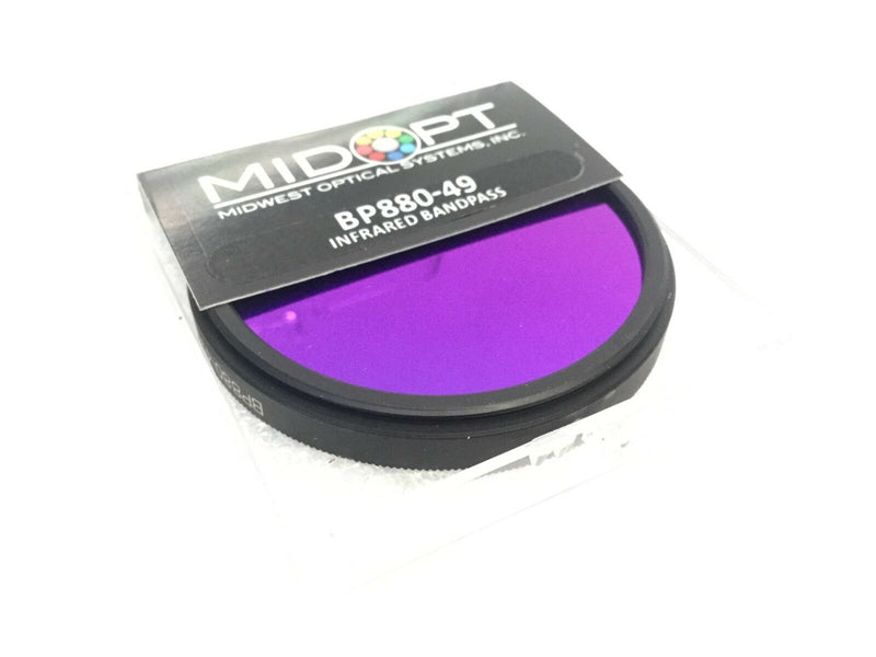 Midwest Optical BP880-49 Infrared Bandpass - Maverick Industrial Sales