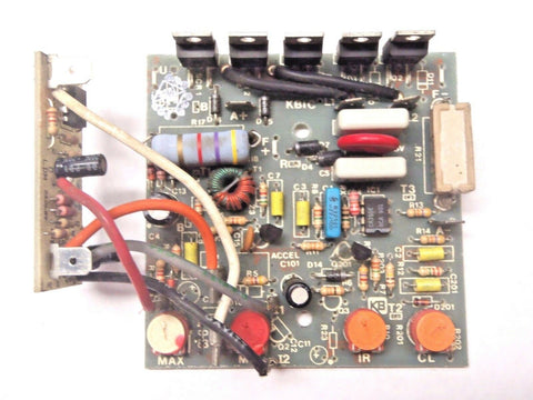 KB Electronics, KBIC L, Variable Speed DC Motor Controls, Circuit Board