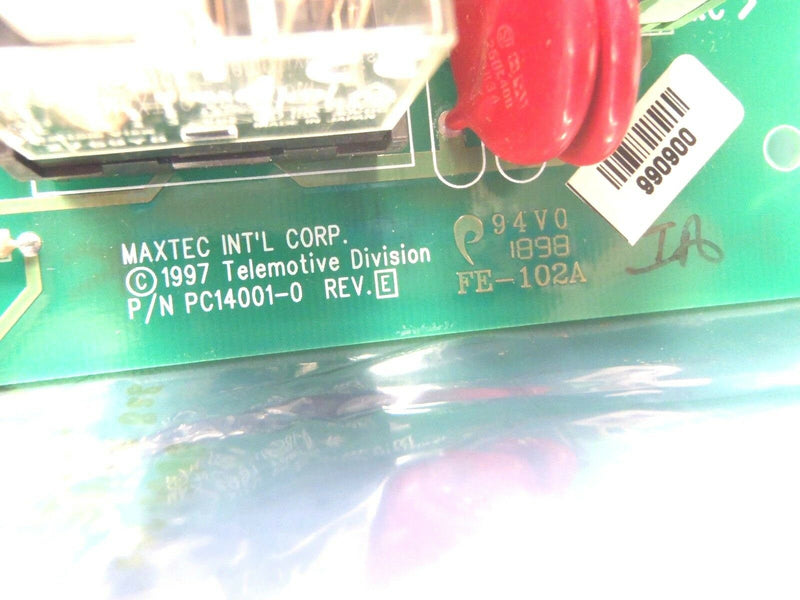 Maxtec PC14001-0 Rev. E PC14001-0-E Control PCB Board - Maverick Industrial Sales