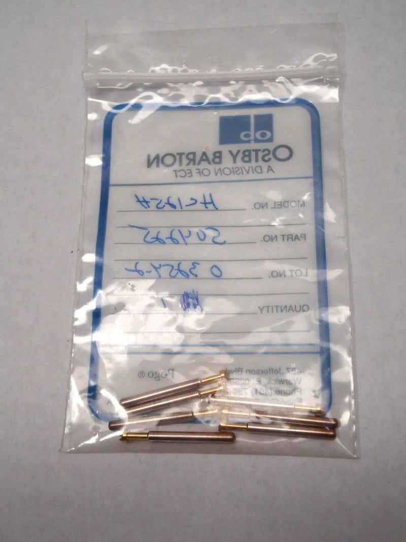 Lot of 7 Ostby Barton HC125H Pogo Test Probe 504225 - Maverick Industrial Sales
