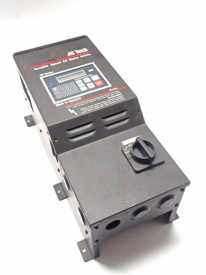 AC Tech Variable Speed AC Motor Drive Q32002B-950 48537-612 - Maverick Industrial Sales