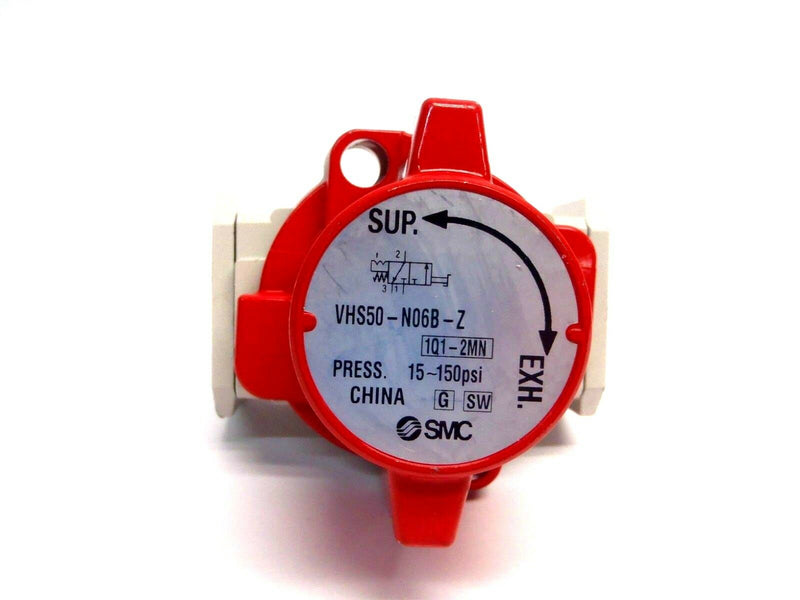 "SMC VHS50-N06B-Z Pneumatic Single Action Relief Valve 15-150PSI 1"" Modular - Maverick Industrial Sales"