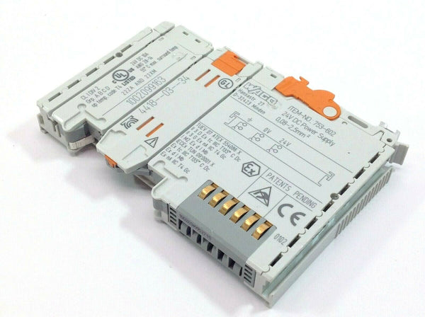 Wago 753-602 Power Supply Module 24 VDC - Maverick Industrial Sales