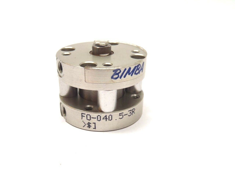 "Bimba F0-040.5-3R Flat-1 Double Acting Pneumatic Cylinder 3/4"" Bore 1/2"" Stroke - Maverick Industrial Sales"