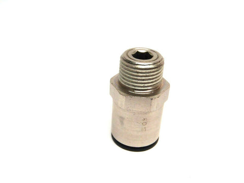 Legris 69751217 1/2 Inch OD Tub Stud Fitting Male R3/8 BSPT Thread