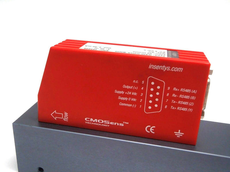 Vogtlin Red-Y for Gasflow GSM-D2HA-BN00 50in/Min Smart Air Valve 5 Bar A 4..20mA - Maverick Industrial Sales