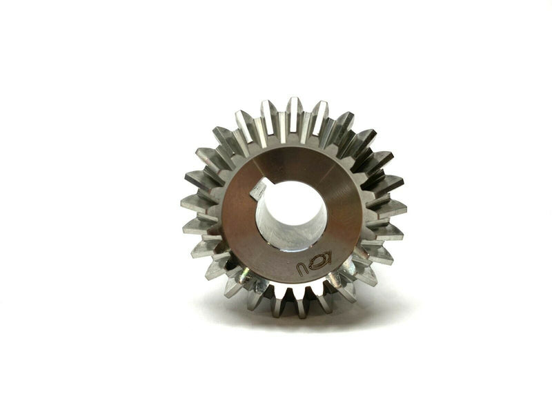 Misumi KGKS1.5-2525-12 Bevel Gear Spiral 20 Degree 25 Teeth 7.5mm W 12mm Shaft - Maverick Industrial Sales