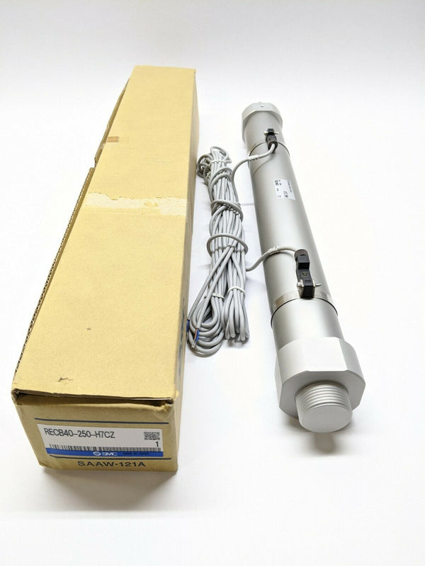SMC RECB40-250-H7CZ REC Sine Cylinder Rod Style 40mm Bore 250mm Stroke w/ Switch