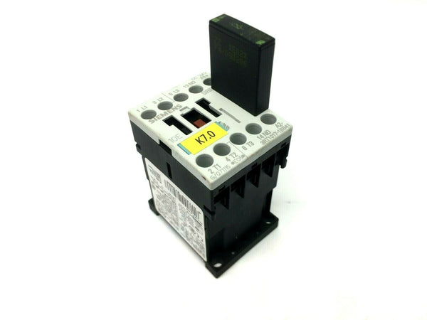 Siemens 3RT1017-1BB41 Contactor w/ 26507 Suppressor 3ZX1012-0RH11-1AA1 - Maverick Industrial Sales