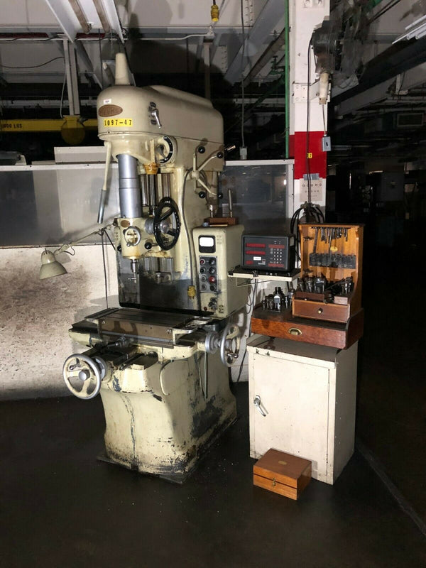 Moore Special Tool Model 2 Jig Borer Boring Press Machine, Bridgeport, 440V - Maverick Industrial Sales