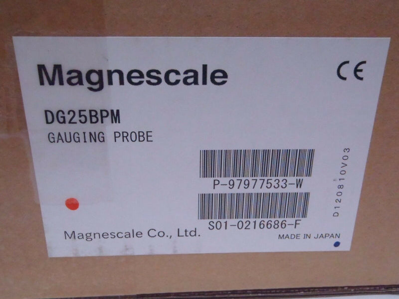 MAGNASCALE DG25BPM DIGITAL GAUGING PROBE 25MM TRAVEL 16' CABLE - Maverick Industrial Sales