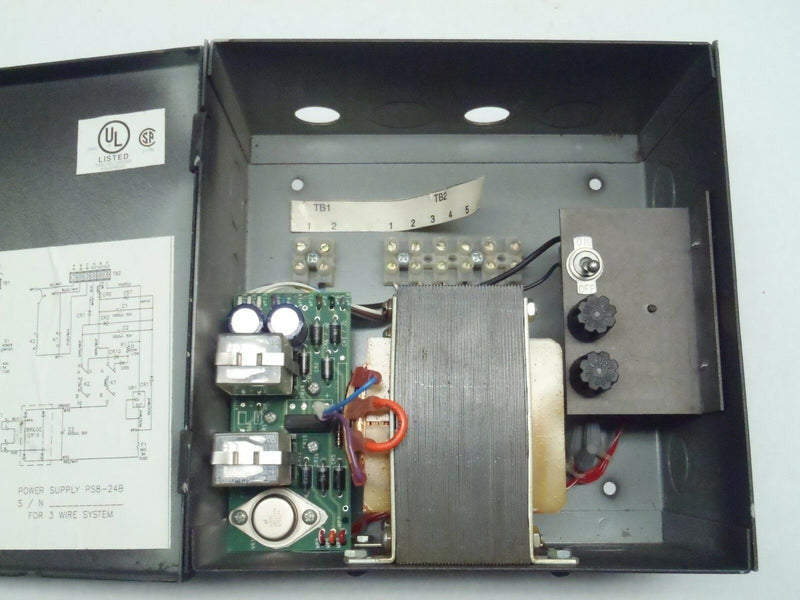 Lathem PS8-24B3 Time Clock Power Supply For 3 Wire System 115V 60Hz - Maverick Industrial Sales