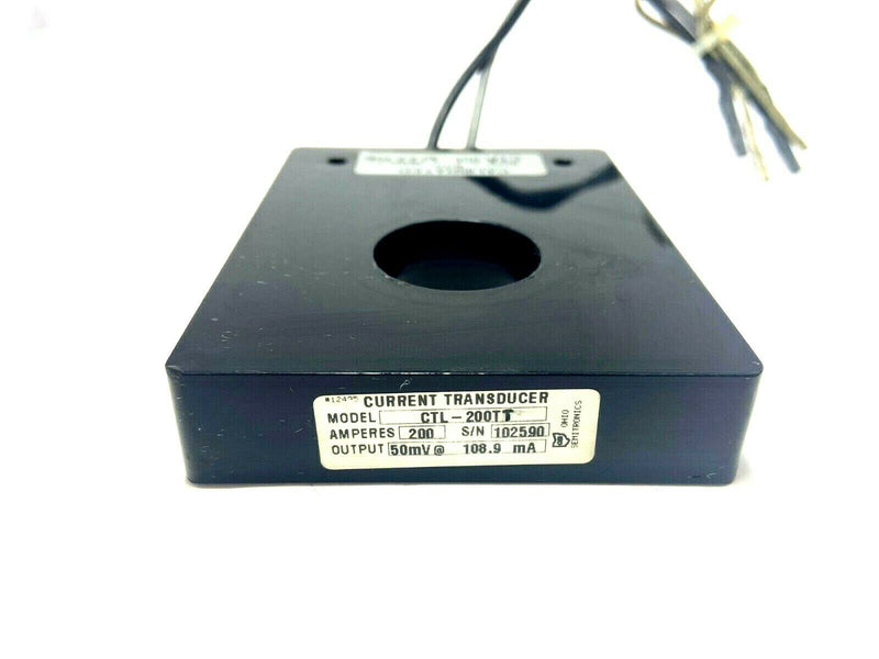 Ohio Semitronics CTL-200T Current Transducer 200A 50mV - Maverick Industrial Sales