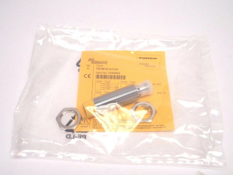 Turck TN-M18-H1147 BL Ident RFID Nonembeddable Read/Write Head 7030002 - Maverick Industrial Sales